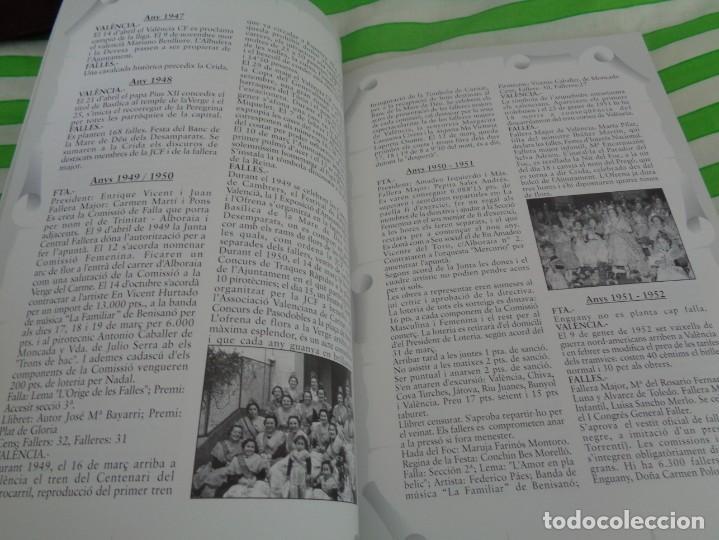 Folletos de turismo: EDICION LIMITADA A 500 - LLIBRET 50 ANIVERSARIO FALLA TRINITAT ALBORAYA 1950-1999 - FALLAS VALENCIA - Foto 10 - 195303608