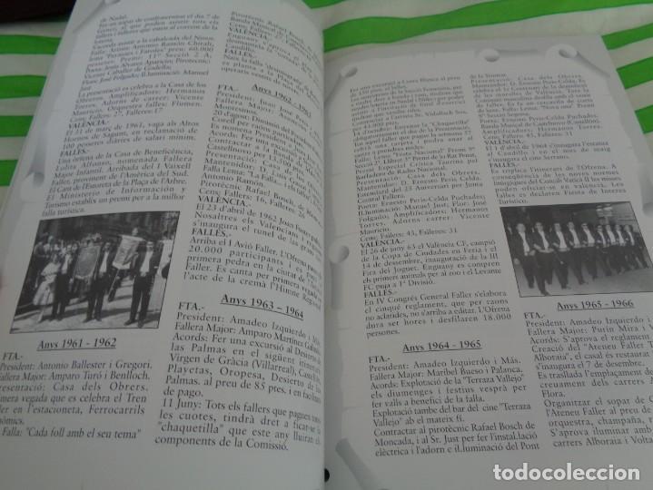 Folletos de turismo: EDICION LIMITADA A 500 - LLIBRET 50 ANIVERSARIO FALLA TRINITAT ALBORAYA 1950-1999 - FALLAS VALENCIA - Foto 11 - 195303608