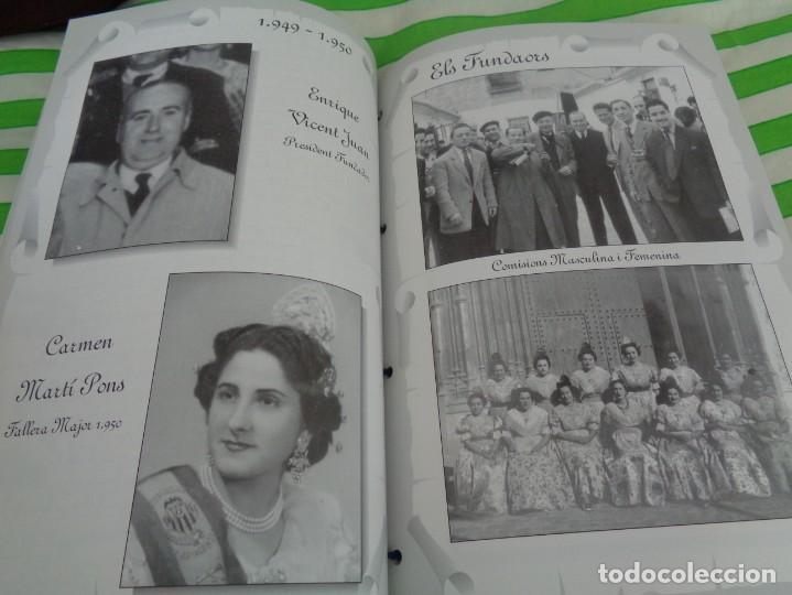Folletos de turismo: EDICION LIMITADA A 500 - LLIBRET 50 ANIVERSARIO FALLA TRINITAT ALBORAYA 1950-1999 - FALLAS VALENCIA - Foto 12 - 195303608