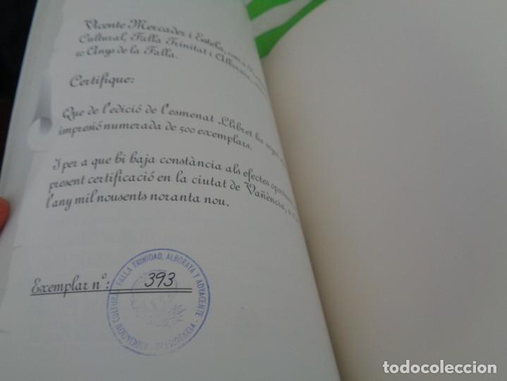 Folletos de turismo: EDICION LIMITADA A 500 - LLIBRET 50 ANIVERSARIO FALLA TRINITAT ALBORAYA 1950-1999 - FALLAS VALENCIA - Foto 25 - 195303608