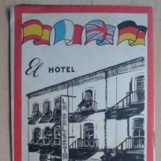 Folletos de turismo: GUÍA DE ALICANTE CON PLANO E INFORMACIÓN TURÍSTICA. Lote 195326643