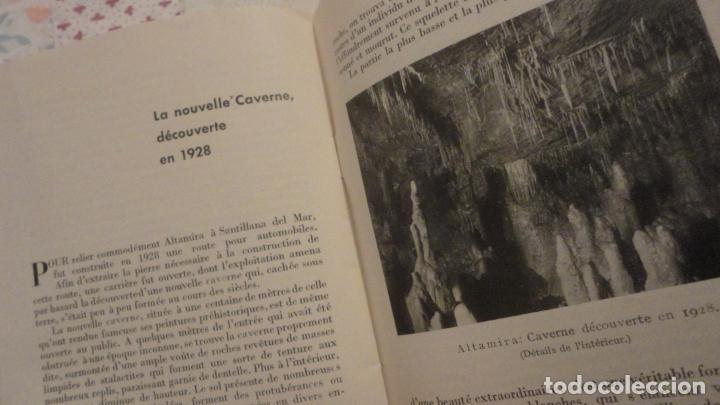 Folletos de turismo: LES CAVERNES D ALTAMIRA. SANTILLANA DEL MAR.CUEVAS DE ALTAMIRA.H.OBERMAIER. - Foto 5 - 195331193