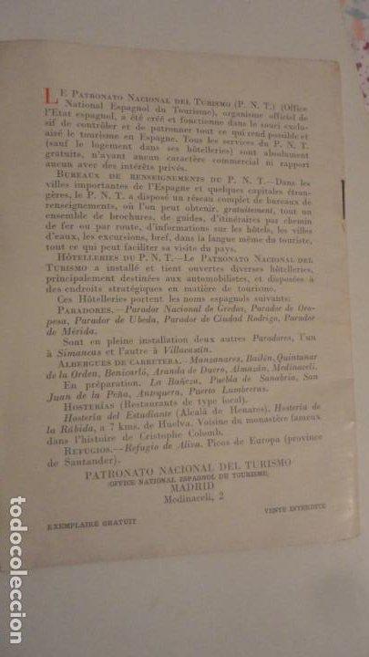 Folletos de turismo: LES CAVERNES D ALTAMIRA. SANTILLANA DEL MAR.CUEVAS DE ALTAMIRA.H.OBERMAIER. - Foto 6 - 195331193