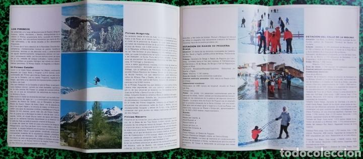Folletos de turismo: DEPORTES DE INVIERNO - ESPAÑA - 1971 - FOLLETO DESPLEGABLE - PJRB - Foto 3 - 195357668