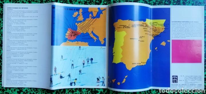Folletos de turismo: DEPORTES DE INVIERNO - ESPAÑA - 1971 - FOLLETO DESPLEGABLE - PJRB - Foto 4 - 195357668
