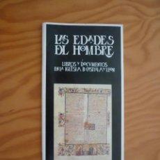 Folletos de turismo: FOLLETO / CATÁLOGO DE LAS EDADES DEL HOMBRE. BURGOS 1990 - 14 PÁGS.. Lote 195413813