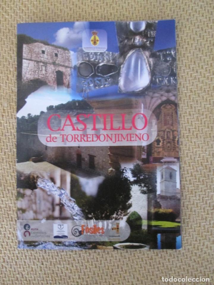 CASTILLO DE TORREDONJIMENO (Coleccionismo - Folletos de Turismo)