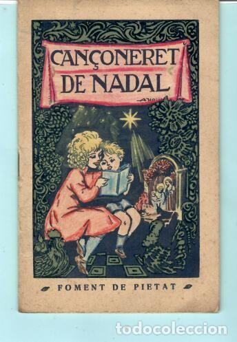 FOLLETO DE FOMENT DE PIETAT CANÇONERET DE NADAL DEL AÑO 1956 (Coleccionismo - Folletos de Turismo)
