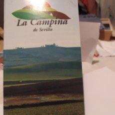 Folletos de turismo: LA CAMPIÑA DE SEVILLA. Lote 195432392