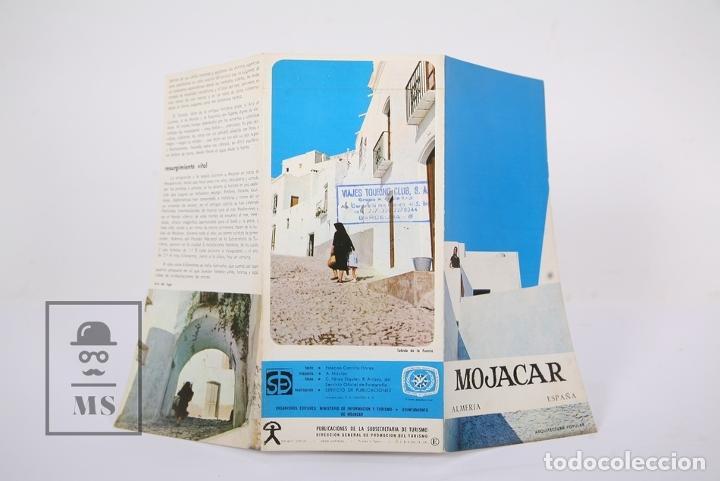 Folletos de turismo: Folleto Turístico - Mojacar / Almeria - Ed Dirección General de Promoción del Turismo - Año 1967 - Foto 4 - 195477596