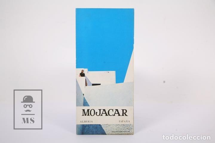 FOLLETO TURÍSTICO - MOJACAR / ALMERIA - ED DIRECCIÓN GENERAL DE PROMOCIÓN DEL TURISMO - AÑO 1967 (Coleccionismo - Folletos de Turismo)