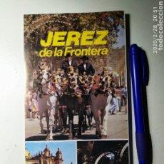 Folletos de turismo: FOLLETO TURÍSTICO JEREZ DE LA FRONTERA. Lote 195510512
