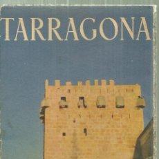 Folletos de turismo: 3477.- TARRAGONA - TRIPTICO TURISTICO - . Lote 195532201