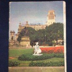 Folletos de turismo: BARCELONA GUÍA TURÍSTICA 1955? OFICINA MUNICIPAL DE TURISMO E INFORMACIÓN -SEIX & BARRAL -16 P.19X11. Lote 196742376