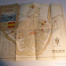 Folletos de turismo: PLANO DE TOLEDO PARA EL TURISTA. Lote 197481992
