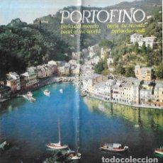 Folletos de turismo: FOLLETO * PORTOFINO * ITALIA -. Lote 198315361