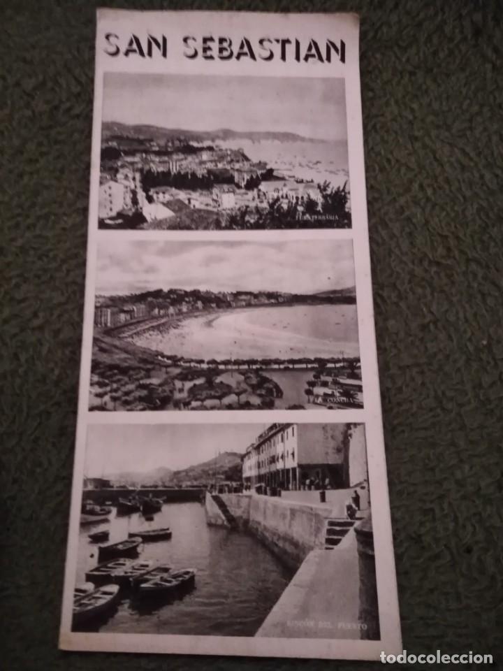 Folletos de turismo: antiguo folleto turistico montserrat - Foto 2 - 198549441