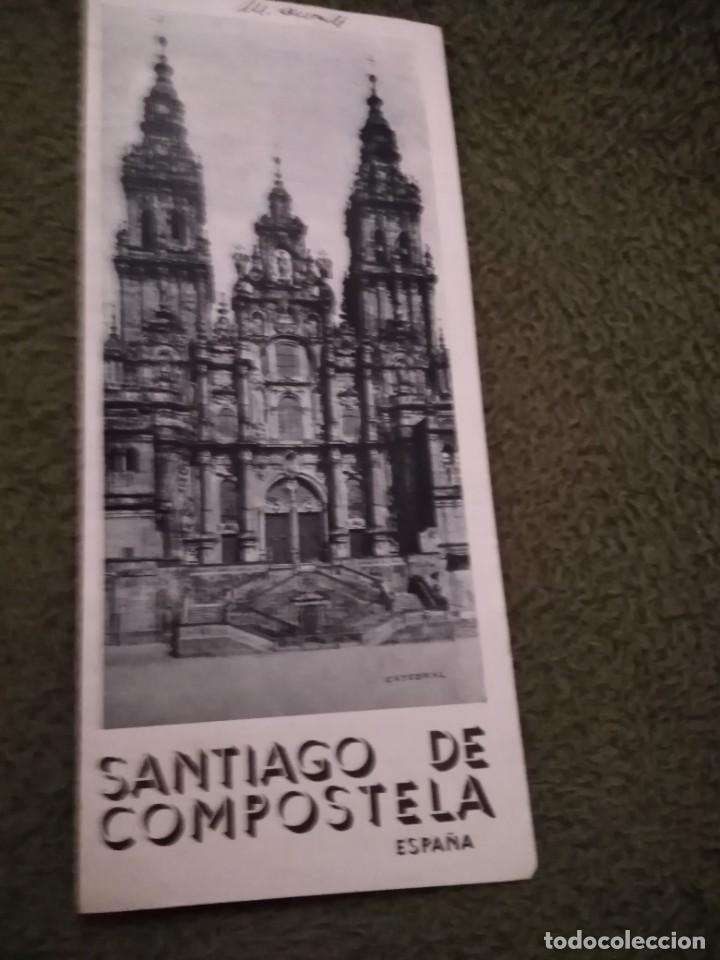 Folletos de turismo: antiguo folleto turistico santiago de compostela - Foto 2 - 198549662