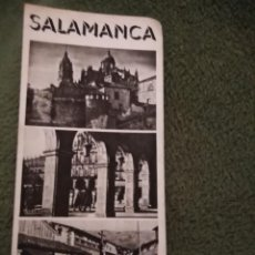 Folletos de turismo: ANTIGUO FOLLETO TURISTICO SALAMANCA. Lote 198549800