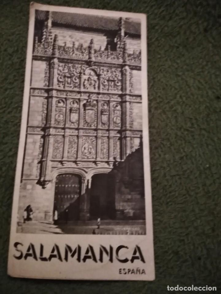 Folletos de turismo: antiguo folleto turistico salamanca - Foto 2 - 198549800