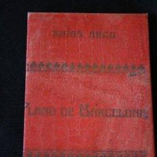 Brochures de tourisme: GUIAS ARCO,PLANO DE BARCELONA. UNA PESETA.. Lote 198995150