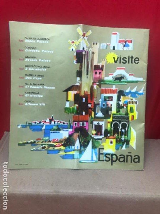Folletos de turismo: Catalogo visite españa cadena hotelera melia 17 paginas hoteles - Foto 6 - 199435833