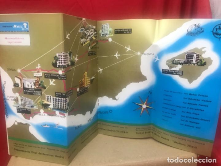 Folletos de turismo: Catalogo visite españa cadena hotelera melia 17 paginas hoteles - Foto 7 - 199435833