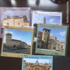 Folletos de turismo: ZAMORA ROMÁNICA PROYECTO CULTURAL 2008 + REGALO DIAPOSITIVAS.VER DESCRIPCIÓN. Lote 200112138