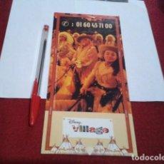 Foglietti di turismo: RESERVADOFOLLETO DISNEYLAND PARIS 1999 ( BUFFALO BILL´S - WILD WEST SHOW ) DISNEY VILLAGE CARTA MENÚ. Lote 200818765