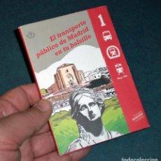 Folletos de turismo: GUÍA TRANSPORTE PÚBLICO DE MADRID - 1994. Lote 202267927