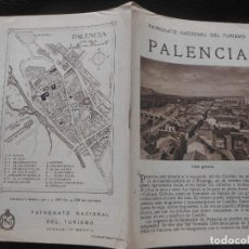 Folletos de turismo: PALENCIA FOLLETO ANTIGUO DE TURISMO. Lote 202598267