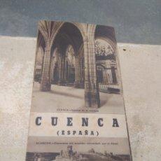 Folletos de turismo: ANTIGUO FOLLETO GUIA DE TURISMO CUENCA. Lote 35686938