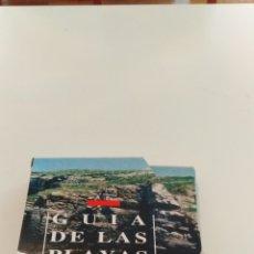 Folletos de turismo: GUÍA DE LAS PLAYAS DE GALICIA. Lote 203989628