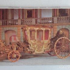 Folletos de turismo: DESPLEGABLE MUSEO NACIONAL DOS COCHES - PORTUGAL. Lote 204152431