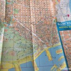 Folletos de turismo: BARCELONA- PLANOL- CLAU 1991. Lote 204274978