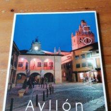 Folletos de turismo: AYLLON. PUEBLOS DE ESPAÑA. SEGOVIA. Lote 204382281