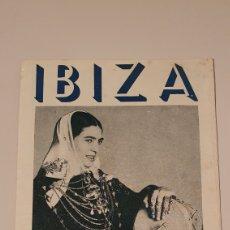 Folletos de turismo: PUBLICIDAD ANTIGUA DE LA ISLA DE IBIZA/ ORIGINAL. Lote 204473648