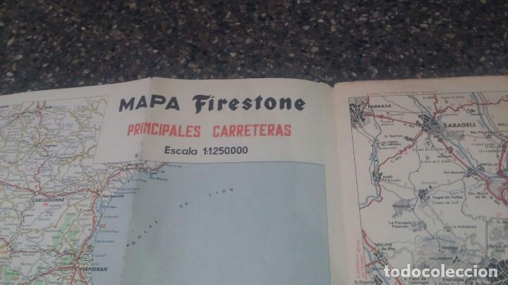 Folletos de turismo: Mapa antiguo Firestone - España y Portugal - Escala 1:1.125.000 - Foto 9 - 204489206