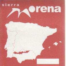 Folletos de turismo: MAPA SENDERO GR 48. RUTAS PARA VER AVES Y NATURALEZA. HUELVA.. Lote 205268297