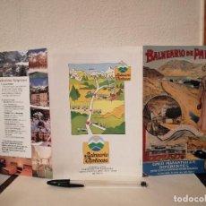 Folletos de turismo: FOLLETO PUBLICITARIO - BALNEARIO DE PANTICOSA HUESCA - TURISMO. Lote 205753612