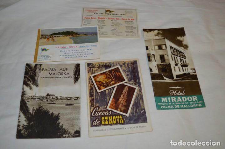 FOLLETOS DE TURISMO ANTIGUOS Y OTROS / PALMA DE MALLORCA - AÑOS 50 / 60 ¡MIRA FOTOS Y DETALLES! (Coleccionismo - Folletos de Turismo)