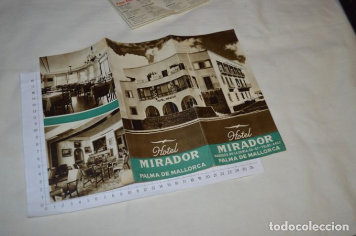 Folletos de turismo: FOLLETOS DE TURISMO ANTIGUOS y otros / Palma de Mallorca - Años 50 / 60 ¡Mira fotos y detalles! - Foto 3 - 205846103