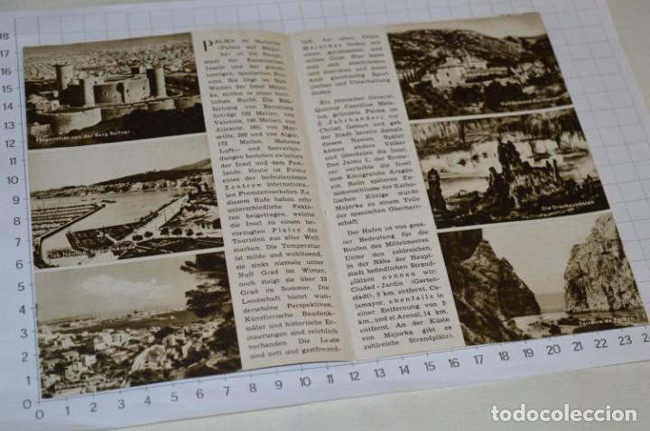 Folletos de turismo: FOLLETOS DE TURISMO ANTIGUOS y otros / Palma de Mallorca - Años 50 / 60 ¡Mira fotos y detalles! - Foto 5 - 205846103