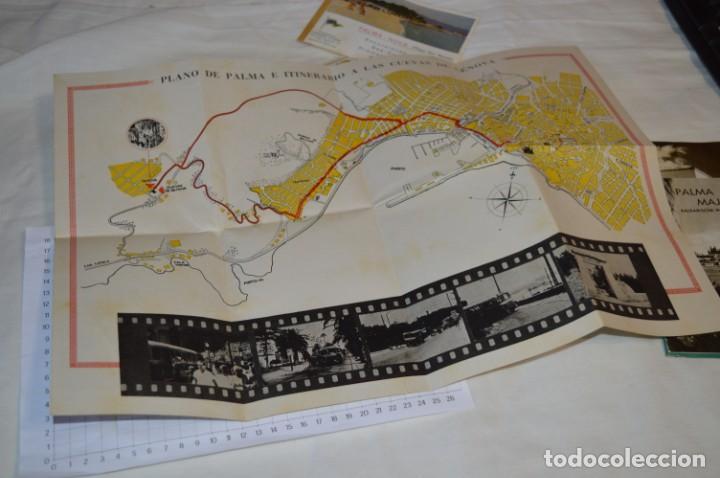 Folletos de turismo: FOLLETOS DE TURISMO ANTIGUOS y otros / Palma de Mallorca - Años 50 / 60 ¡Mira fotos y detalles! - Foto 7 - 205846103