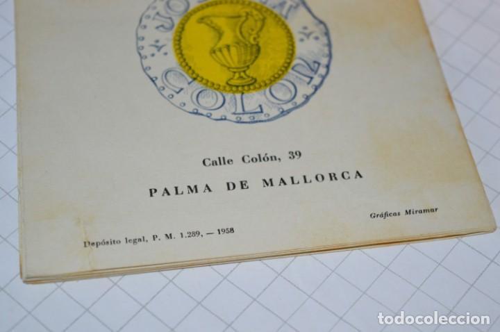 Folletos de turismo: FOLLETOS DE TURISMO ANTIGUOS y otros / Palma de Mallorca - Años 50 / 60 ¡Mira fotos y detalles! - Foto 9 - 205846103
