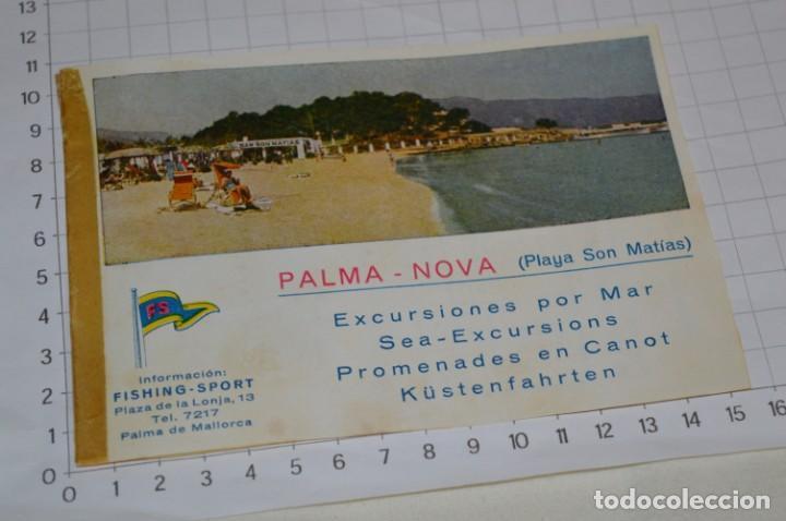 Folletos de turismo: FOLLETOS DE TURISMO ANTIGUOS y otros / Palma de Mallorca - Años 50 / 60 ¡Mira fotos y detalles! - Foto 10 - 205846103
