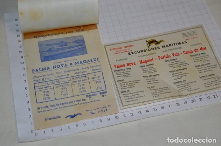 Folletos de turismo: FOLLETOS DE TURISMO ANTIGUOS y otros / Palma de Mallorca - Años 50 / 60 ¡Mira fotos y detalles! - Foto 11 - 205846103