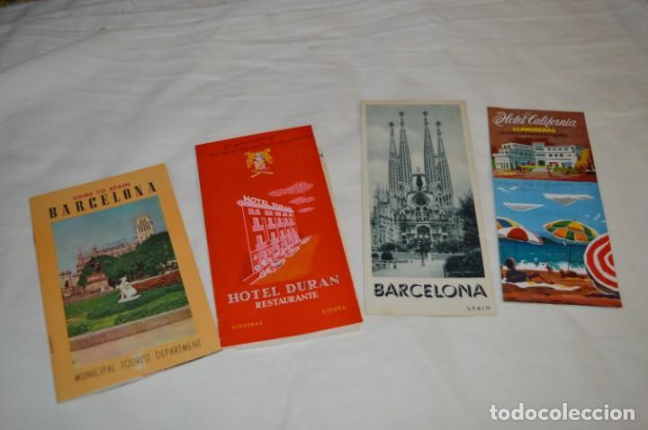 FOLLETOS DE TURISMO ANTIGUOS Y OTROS / CATALUÑA BARCELONA - AÑOS 50 / 60 ¡MIRA FOTOS Y DETALLES! (Coleccionismo - Folletos de Turismo)