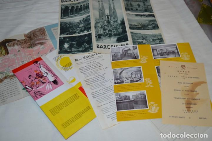 Folletos de turismo: FOLLETOS DE TURISMO ANTIGUOS y otros / Cataluña BARCELONA - Años 50 / 60 ¡Mira fotos y detalles! - Foto 2 - 205847728