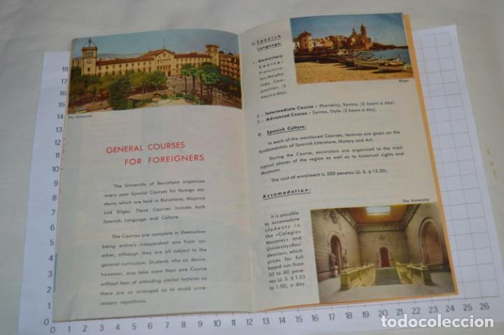 Folletos de turismo: FOLLETOS DE TURISMO ANTIGUOS y otros / Cataluña BARCELONA - Años 50 / 60 ¡Mira fotos y detalles! - Foto 6 - 205847728